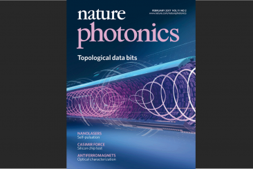 Cover of Nature Photonics